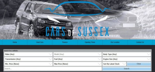Cars of Sussex